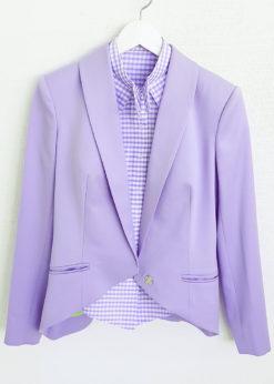 Светло-пурпурный жакет