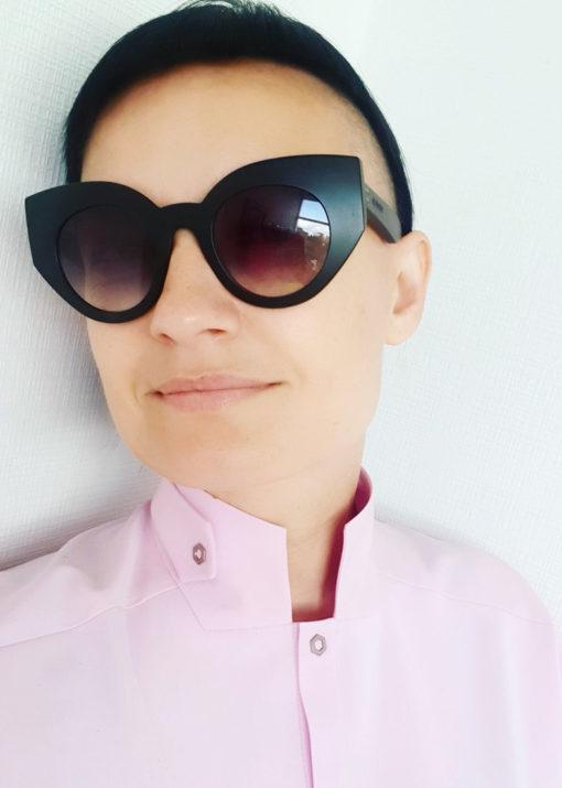 Светло-розовое платье вид2