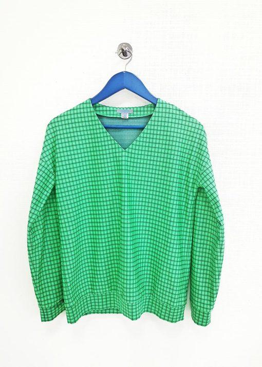 Зеленый джемпер вид2