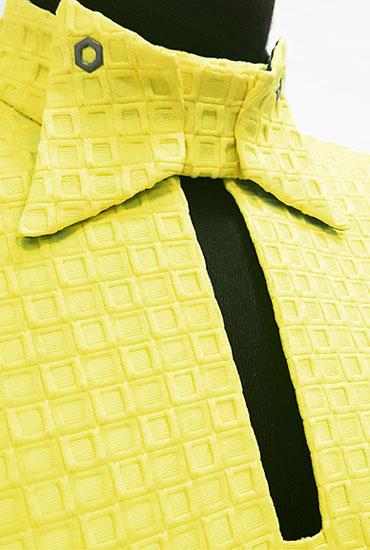 Желтое платье вид3