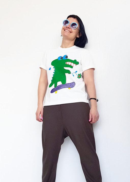 "Футболка ""Крокодил"""