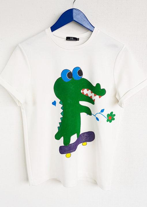 "Футболка ""Крокодил"" вид2"