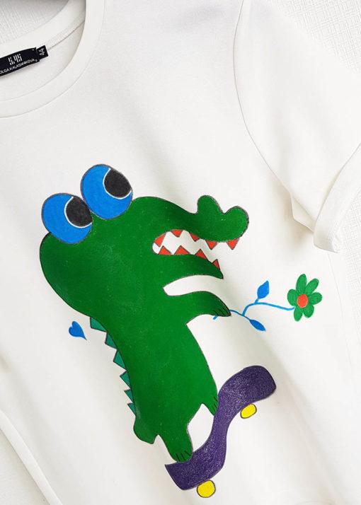 "Футболка ""Крокодил"" вид3"