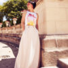 Нежно-кремовая юбка