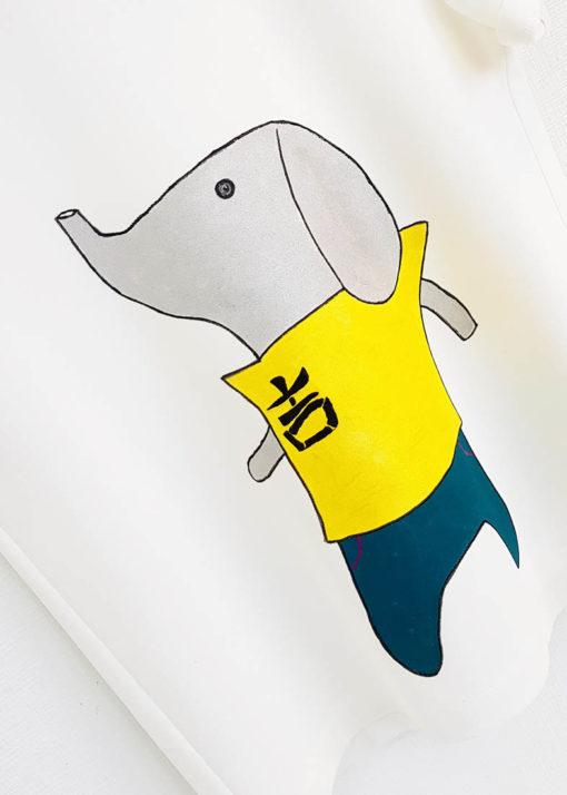 "Футболка ""Тайский слон"" вид3"