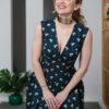 Графичное платье с принтом - вид4